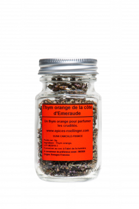 Orange Thyme from Brittany (Emerald Coast)