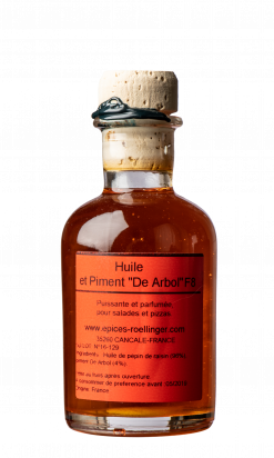 "Huile et Piment ""De Arbol"" F8"