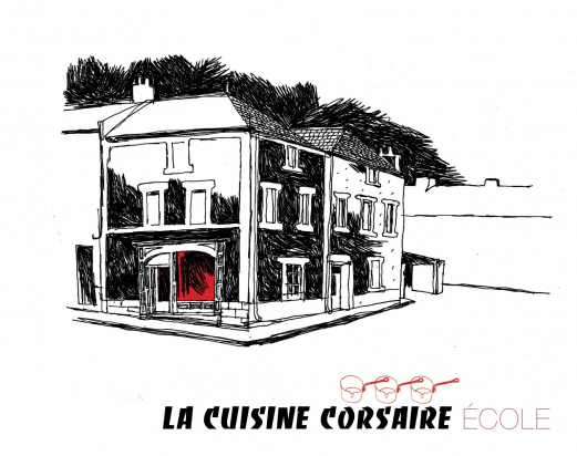 The corsair cooking school / invitation - good gift / cooking class (4h)