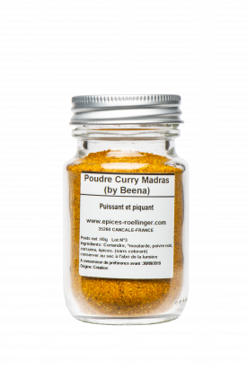 Poudre Curry Madras by Beena